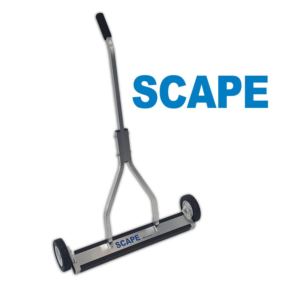 scape magnetic sweeper by bluestreak equipment