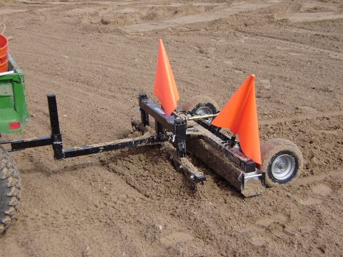construction-site-magnetic-sweeper-rhino-with-debris-digging-rake-bluestreak-equipment