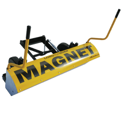 front mount magnetic sweeper