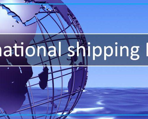 ISPM-15 compliant international packaging