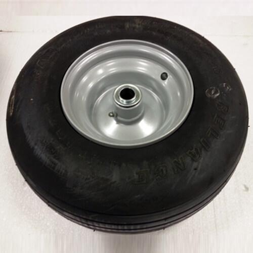 "Part #20 Yacare 13"" Flat proof wheel (1pc) with .75"" bearings (2pcs)"