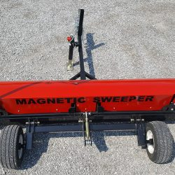 Caiman magnetic sweeper Top View