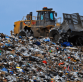 Landfill magnetic sweeper