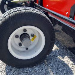 Caiman magnetic sweeper wheel hubs