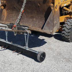 Backhoe Loader Magnetic Sweeper - Eiger