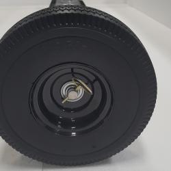 Eiger 10 inch flat foam filled wheel on 4.5x4.5 inch_housing size