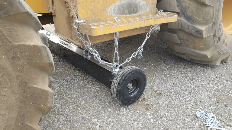 Wheeled magnetic sweeper - Eiger by Bluestreak Equipment