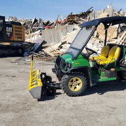 Landfill magnetic sweeper Yak by Bluestreak Equipment