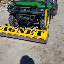 Yak 66 inch wide front mount magnet by Bluestreak Equipment