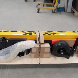 Yak UTV front mount magnetic sweeper domestic LTL packaging