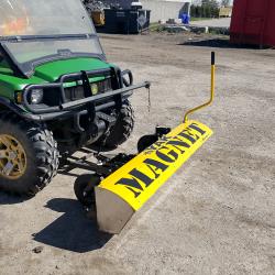 Yak front mount UTV magnetic sweeper