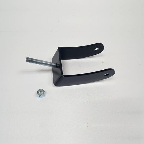 "Part #7 Yak Steel Caster Frame w/ 0.625"" Nyloc nut (1 pc)"