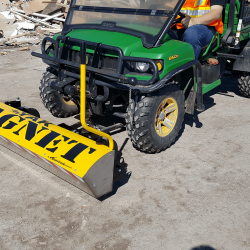 front mount UTV magnet by Bluestreak Equipment