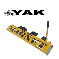 yak magnetic sweeper bluestreak equipment