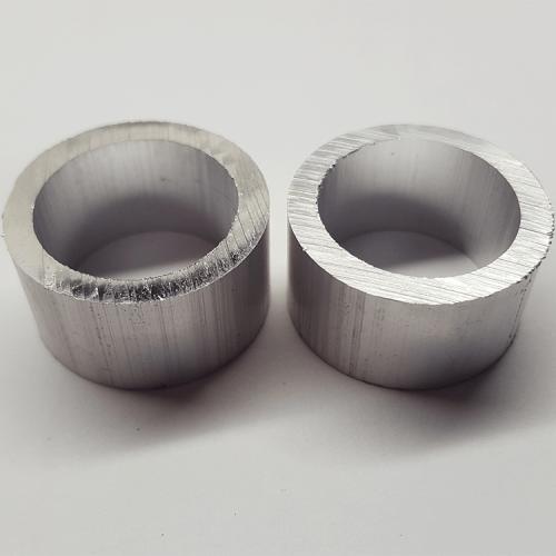 """Part #13 Theta .940"""" Diameter Aluminum Spacers 0.590"""" Thick (item h) (2 pcs)"""