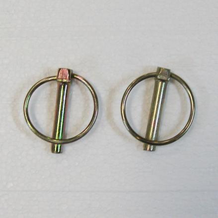 Part #1 PYR 4.5x4.5 Steel Lynch Pins (2 pcs)