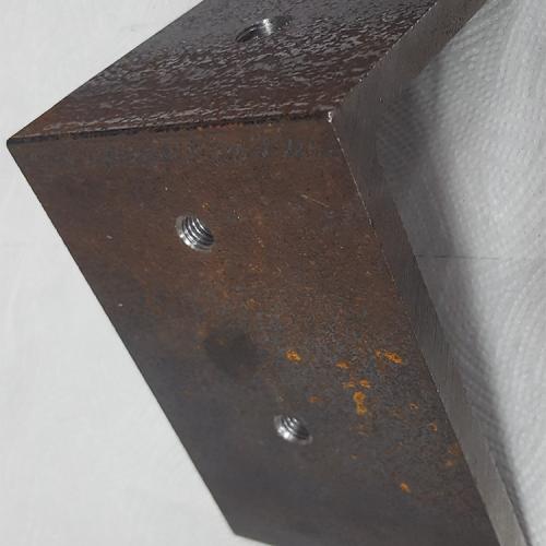 Part #4 PYR 3x3 Steel End Cap (1 pc)