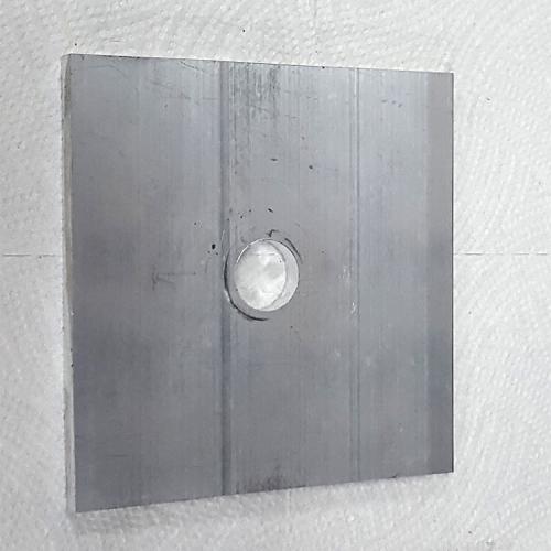 Part #5 PYR 3x3 Aluminum End Cap (1pc)