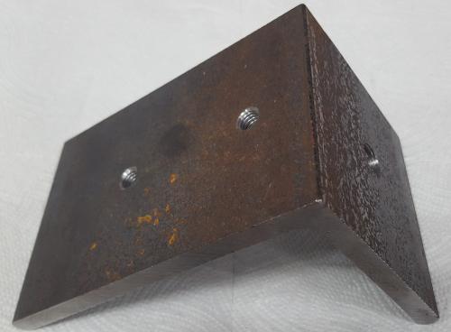 Part #4 Khamsin Steel End Cap (1pc)