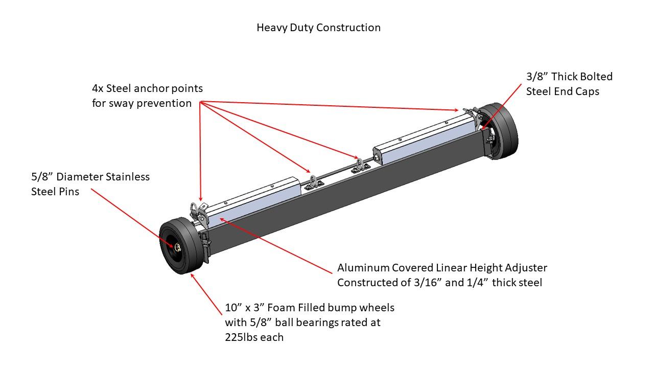 Khamsin CAD file - Heavy Duty Construction