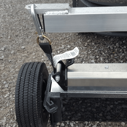 Khamsin magnetic sweeper actuator raises and lowers magnet