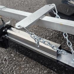 Khamsin magnetic sweeper mounting