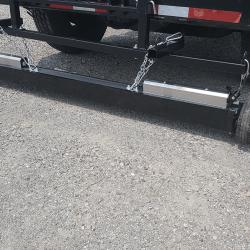 Khamsin with bump wheels actuators quick clean sleeve