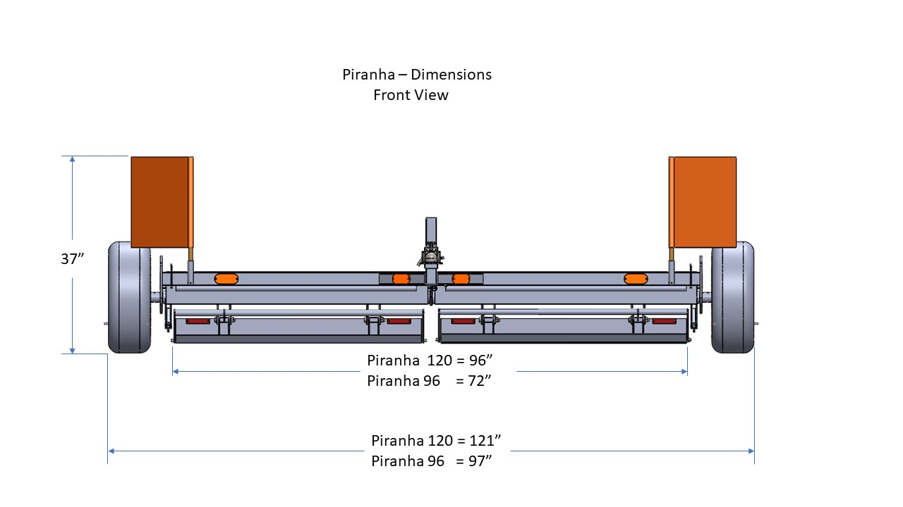 Piranha Front View
