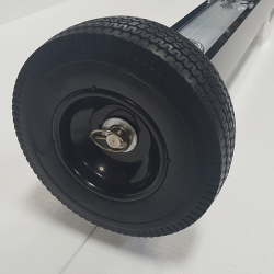 Eiger 3x3 8 x 2.5 inch foam filled bump wheel with 0.625 inch ball bearing