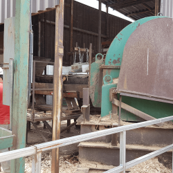 Gobie magnet used as magnetic separator lumber mill