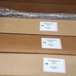 All 3 NAOS parts boxes within the main box