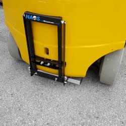 Bluestreak Equipment NAOS series forklift magnet
