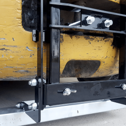 NAOS forklift magnet by Bluestreak Equipment