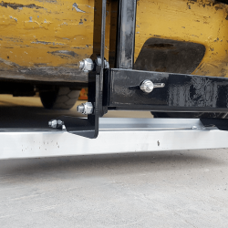 NAOS forklift magnetic sweeper