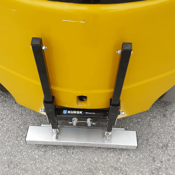 Forklift magnet by Bluestreak Equipment