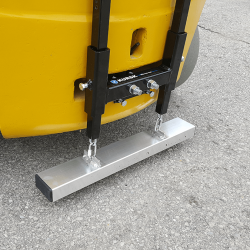 Kursk rear pin mount forklift magnetic sweeper