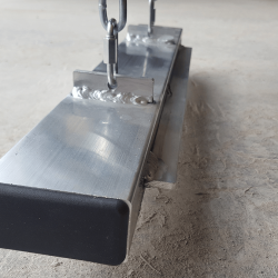 magnet on Kursk forklift magnetic sweeper