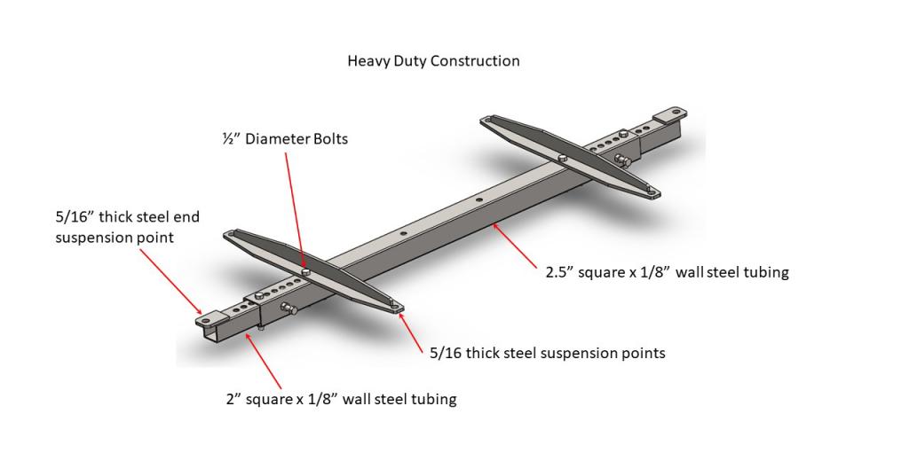 Hanging bracket C - Heavy Duty Construction