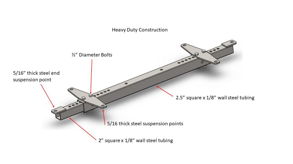 Hangng Bracket A - Heavy Duty Construction