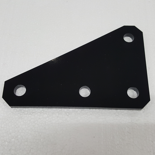 Part #1 2 inch Receiver Mount Bracket 0.3125 inch steel clamp plate (1pc)