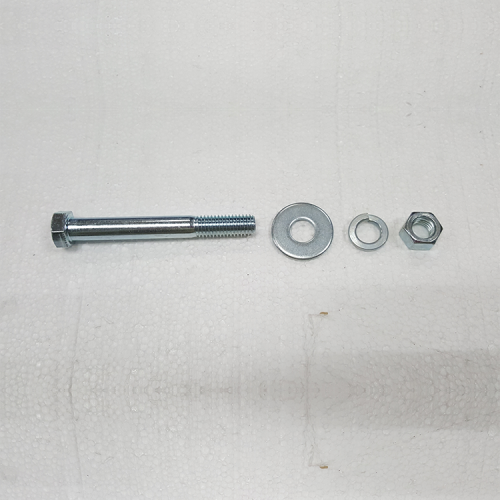 Part #3 Bumper Mount Bracket A 0.500 inch x 4 inch bolt (1pc) washer (1pc) lock washer (1pc) and nut (1pc)