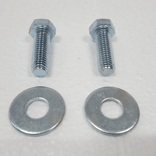 "Part #8 Oblast tray connector bolts 0.5"" x 1.5"" (2pcs) w/washers (2pcs)"