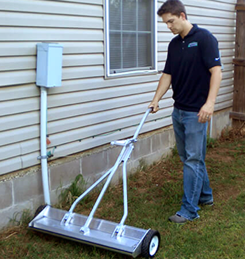 Push Type Magnetic Sweepers