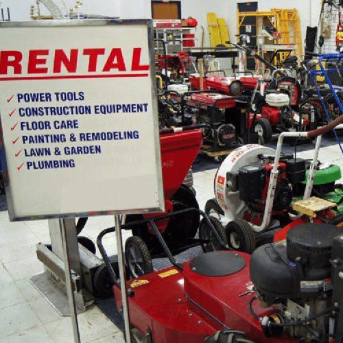 rental centers magnet
