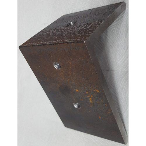 Part #4 Alpha steel end cap (1pc)