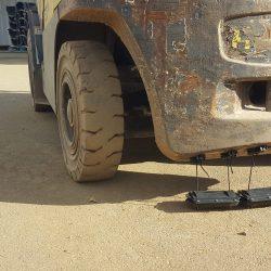 Forklift magnet Nomic Series magnet mounted
