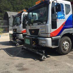 Highway maintenance magnet
