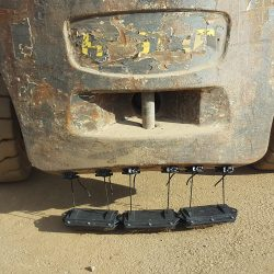 NOMIC hanging magnetic sweeper by Bluestreak Equipment