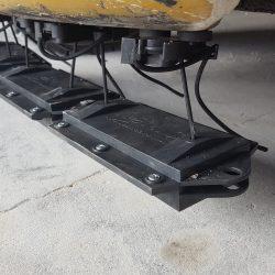 Nomic forklift magnetic sweeper