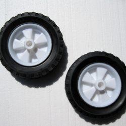Ecko 20  part q - 6 inch plastic wheels